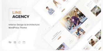 Line Agency Interior Design & Architecture WordPress Theme