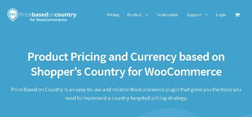 WooCommerce Price Based on Country Pro Add-on