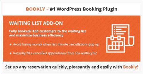 Bookly Waiting List (Add-on)