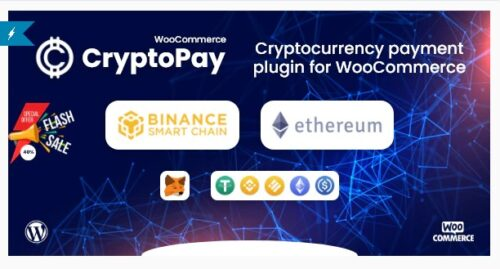 CryptoPay WooCommerce - Cryptocurrency payment plugin