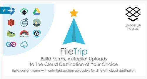 Filetrip Easily upload to Dropbox + Google Drive + S3 + WordPress