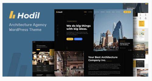 Hodil - Architecture Agency WordPress Theme